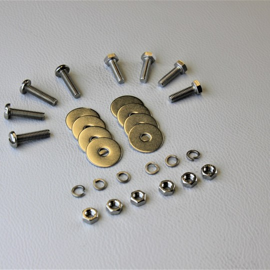 Cowl box and grille screw set s/s