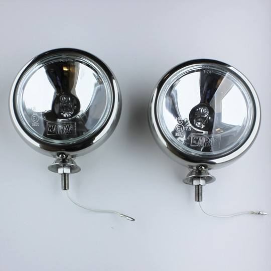 "Spot lamps 5"" diameter (pair)"