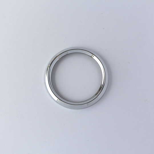 Chrome bezel for small VDO instruments