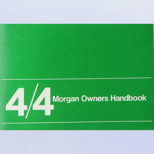 Driver's handbook 4/4 cvh & Fiat