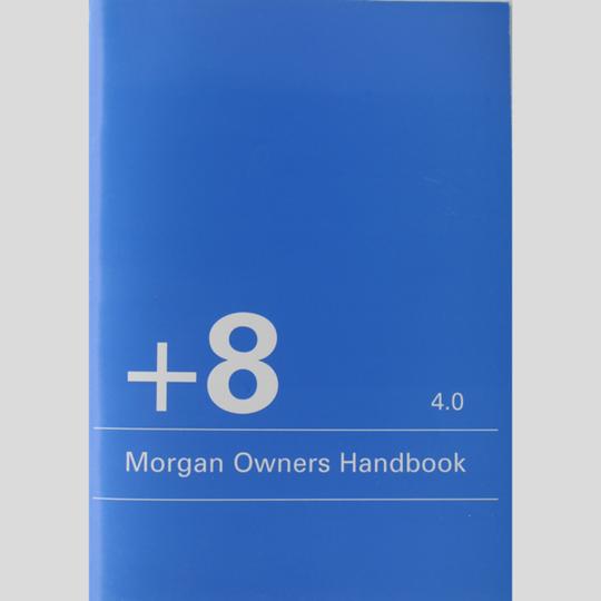 Driver's handbook +8 4.0L 11/2000 on