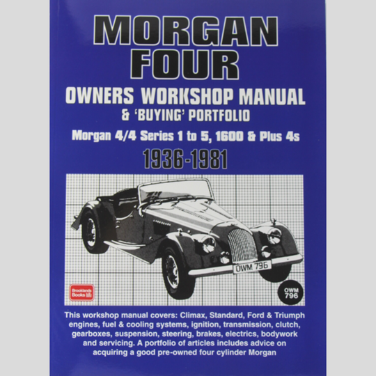 Autobook workshop manual +4 pre 1968 & 4/4 pre 1981