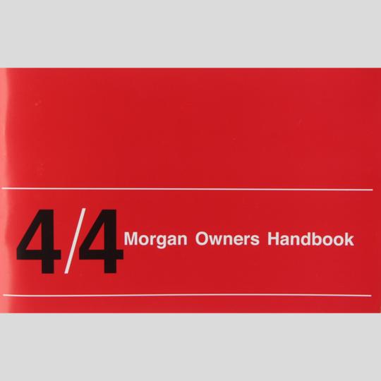 Drivers handbook 4/4 crossflow