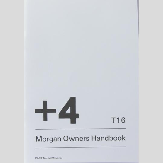 Drivers handbook +4 Rover T16