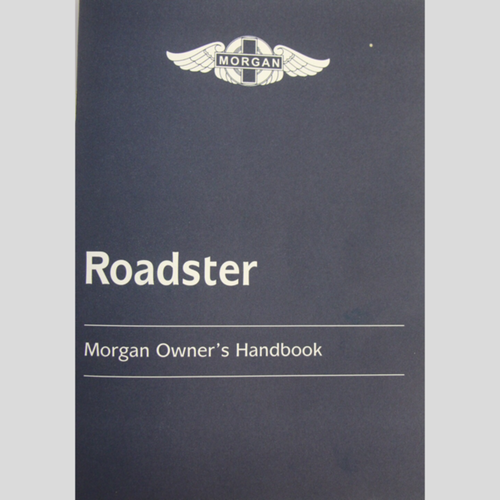 Drivers handbook for V6 Roadster to1/2005