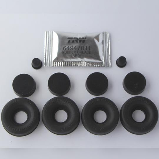 Rear wheel cylinder service kit for BRH135L & 135R (car set)
