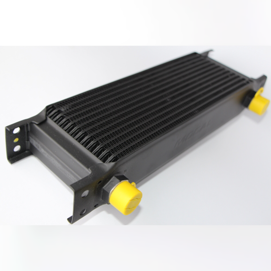 """Oil cooler radiator - 13 row (1/2"""" bsp male connections)"""