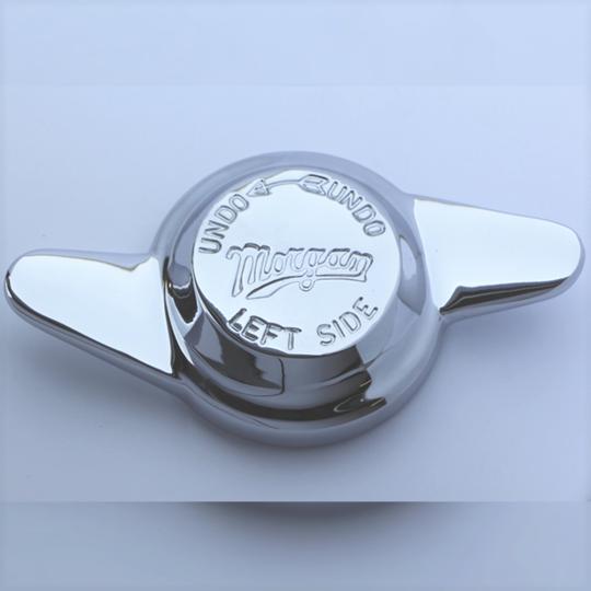 Spinner 2 ear left - engraved 'Morgan'