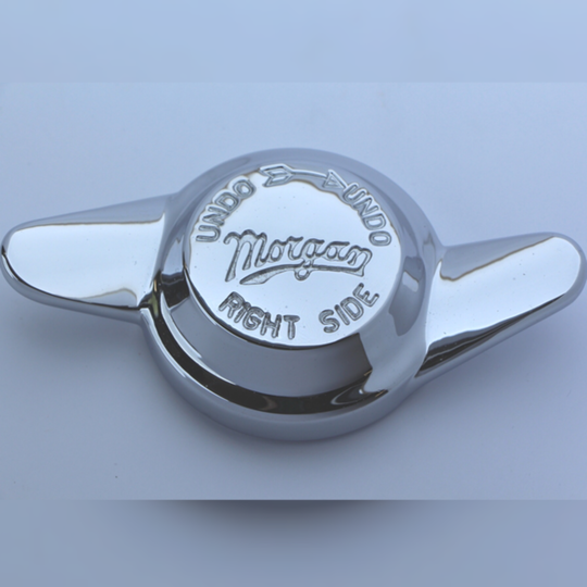 Spinner 2 ear right - engraved 'Morgan'