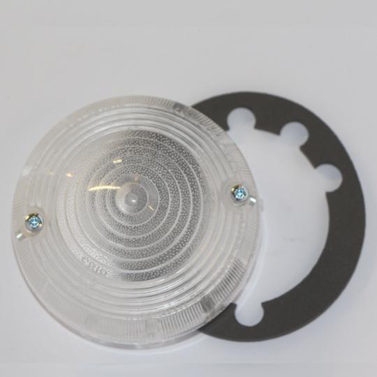 Lens for reversing lamp to 1989 (ELA601) - circle type