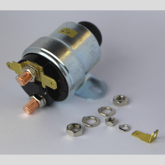 Starter solenoid pre 1968 (for non ballast ign. system) with starter button