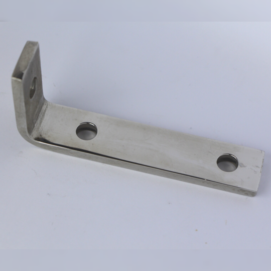 Centre bracket 4/4 Ford 1976-82 - polished stainless steel