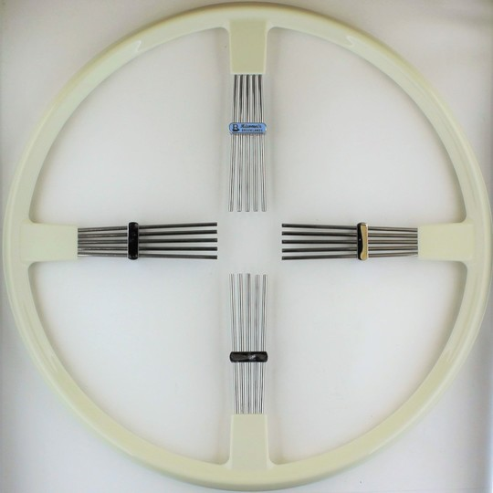 Brooklands 4 spoke steering wheel - ivory rim 17""