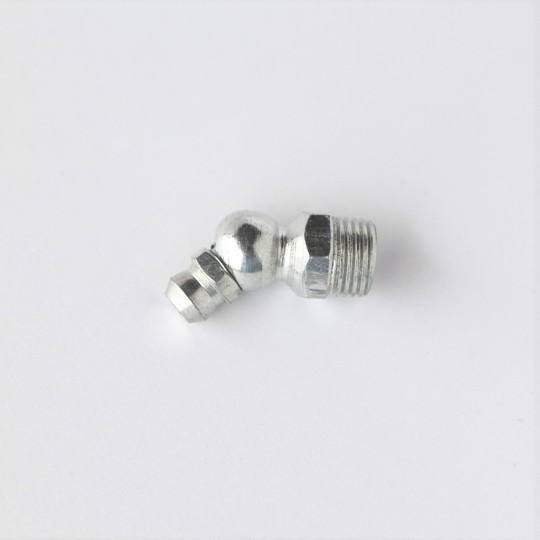 "Grease nipple 1/8"" gas angled (track rod end)"