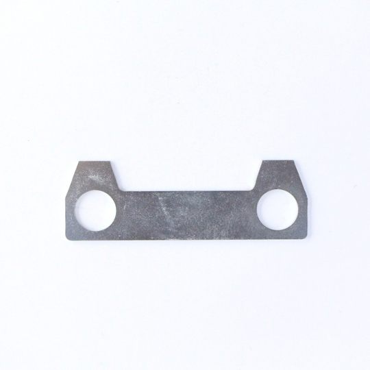Lock tab for rack and pinion mounting bolt +8