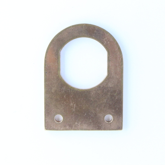 Damper blade bronze pad