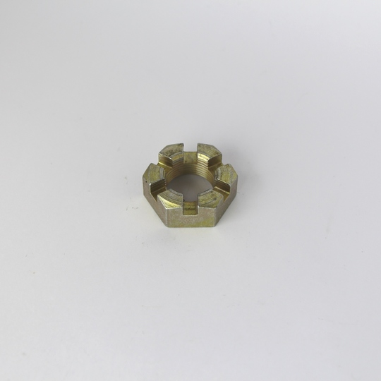 Stub axle castellated nut +8 (front)