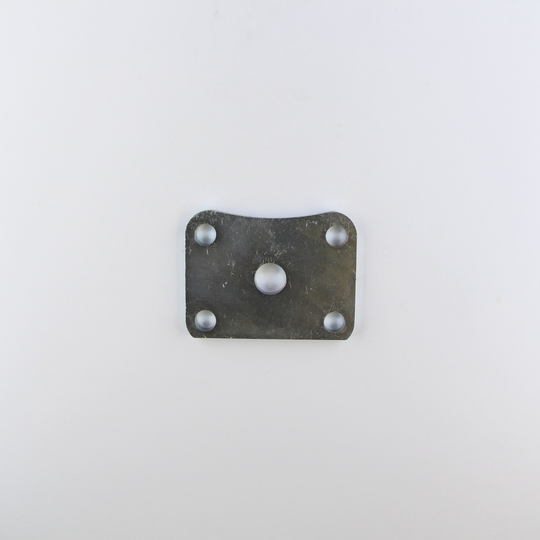 Steel plate for axle 'U' bolt (for spring)