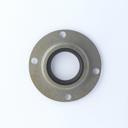 Rear wheel grease seal (outer) with mounting plate +4, 4/4 & +8