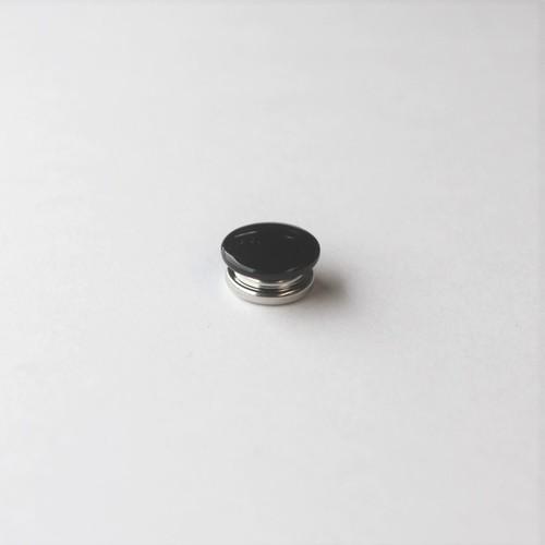 Durable dot - black enamel