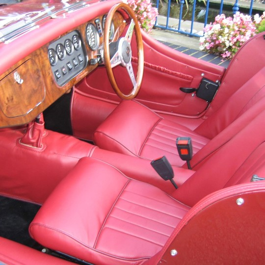 Leather trim kit for 2 seater