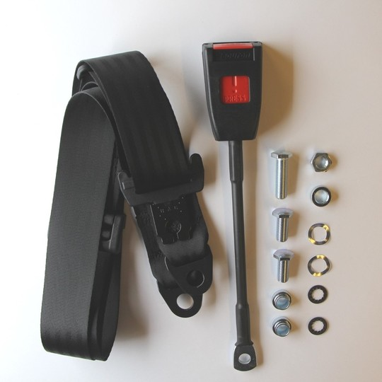 One seat belt kit (static) front