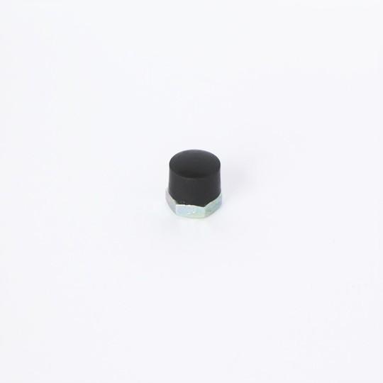 Dome nut for hood frame pivot