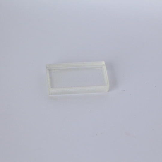 Perspex block for sidescreen perspex
