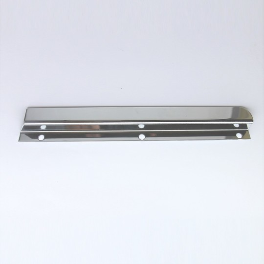 Windscreen draught excluder - stainless steel left hand -fits cowl cars
