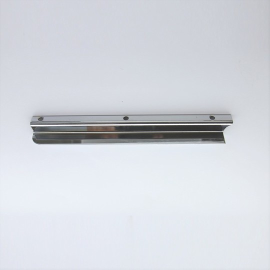 Windscreen draught excluder - stainless steel right hand- fits cowl cars