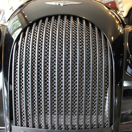 New stainless steel grille - satin black