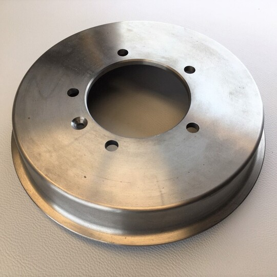 Rear Brake Drum for Plus 8's and V6 Roadsters fitted with alloy wheels