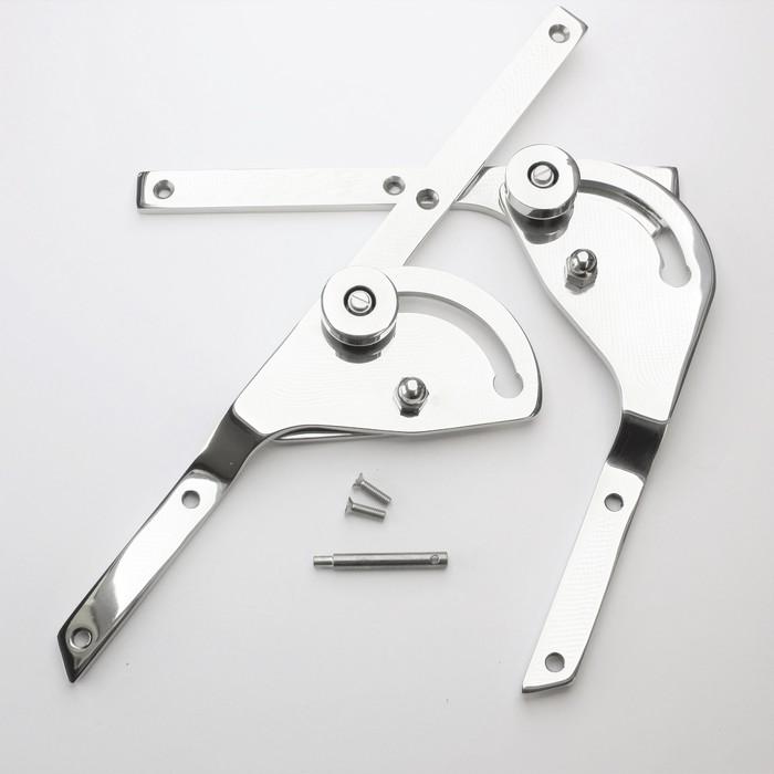 Fold down windscreen kits